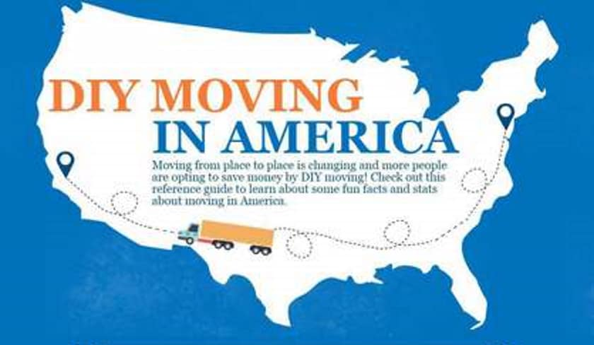 DIY Moving in America! (Infographic) 3