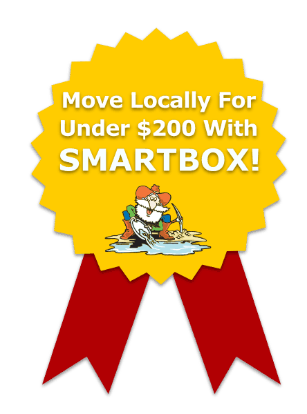 SMARTBOX portable storage people moving