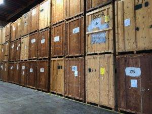 Mother Lode's indoor warehouse storage facility