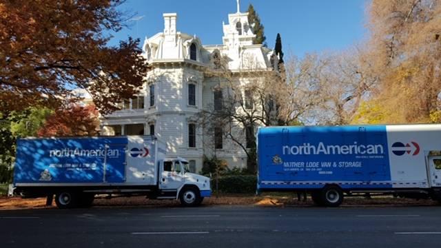 Sacramento Movers moving the Governor of California