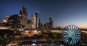 Houston Skyline at Dusk