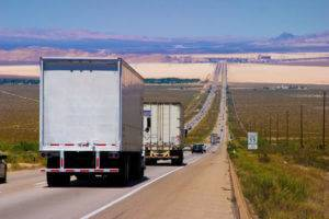 trucks for moving from California to Texas